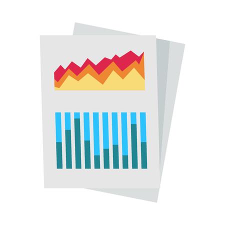 Diagram on Paper Icon