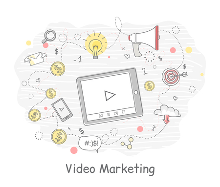 Video Marketing Approaches, Measures and Methods Ilustração