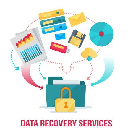 Data Recovery Services de Bannière