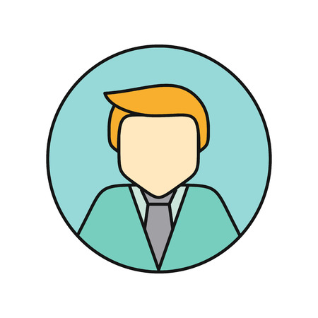 business shirts: Young Man Private Avatar Icon
