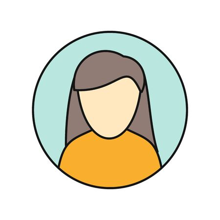 Young Woman Private Avatar Icon