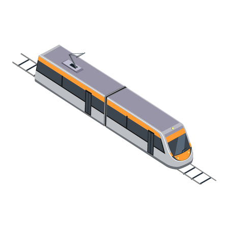 intercity: Subway Train. High Speed Inter-City Commuter