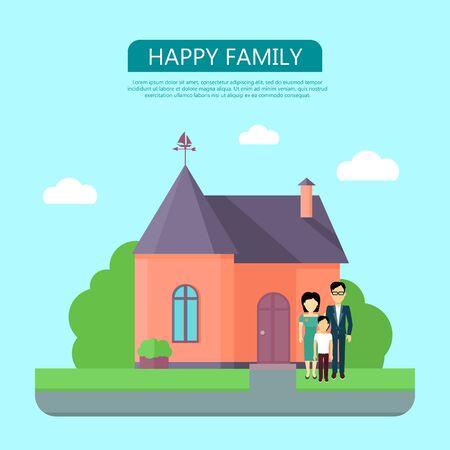 Happy Family Concept Stock Photo