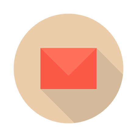 Envelope Mail Icon Illustration