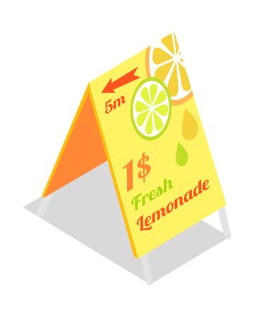 adds: Fresh Lemonade Advertisement Banner. Directory Guide