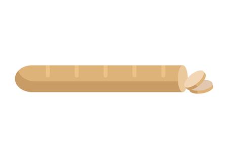 フラットなデザインのパン ベクトル図のパン 写真素材 - 72737480