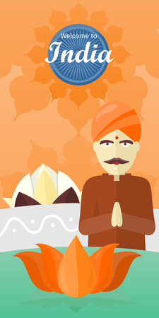 Welcome to India Travel Poster