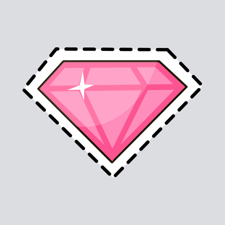 Pink Diamond. Cut it out. Luxurious Accessory