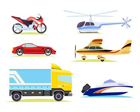 Medios de transporte. Colección de Fotos