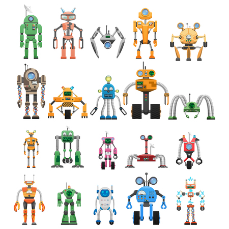 Robots Set Modular Collaborative Android Machines