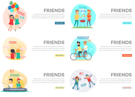 pal: Best Friends Day Forever Web Collection on White