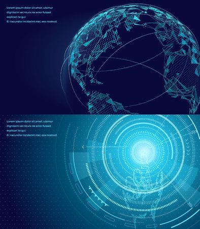 Symbols of International Communication Poster. Illustration