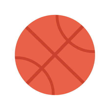 nba: Basketball Ball Illustration. Sports Equipment