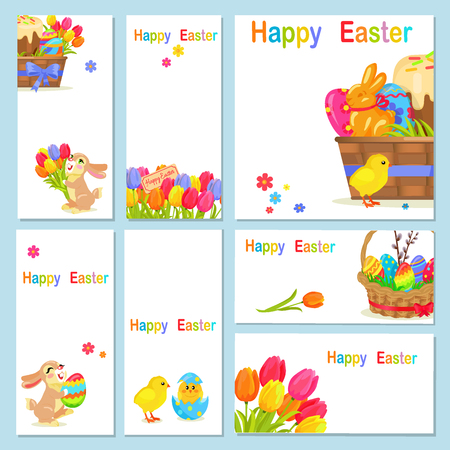 sweetness: Concept of Happy Easter Chicken Flowers Bunny