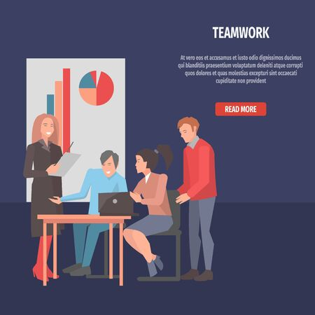 resolving: People Resolving Issues on Laptop Teamwork Startup