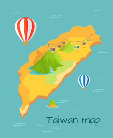 Maokong Dragon Mountain Cableway in Taiwan