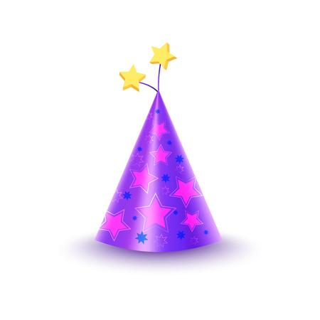 Bouchon de papier avec des étoiles Illustration isolée Banque d'images - 85278332