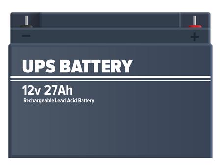Ups 充電式鉛蓄電池分離ベクトル