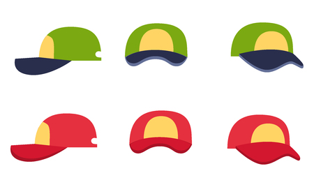 sported: Baseball Cap Collection, Front, Back and Side View
