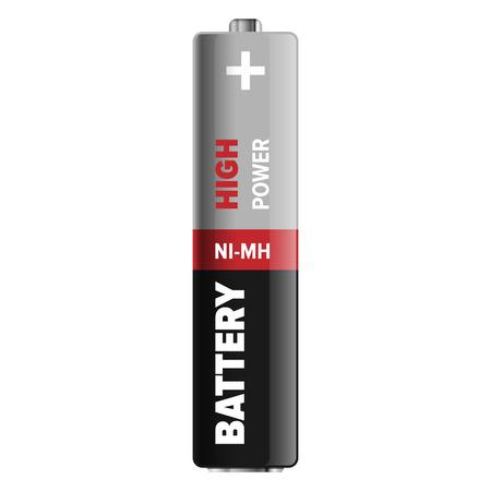 High Power Compact NI-MH Battery Illustration