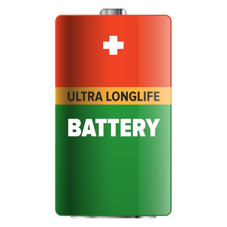 大きな超ロングライフ バッテリー分離の図