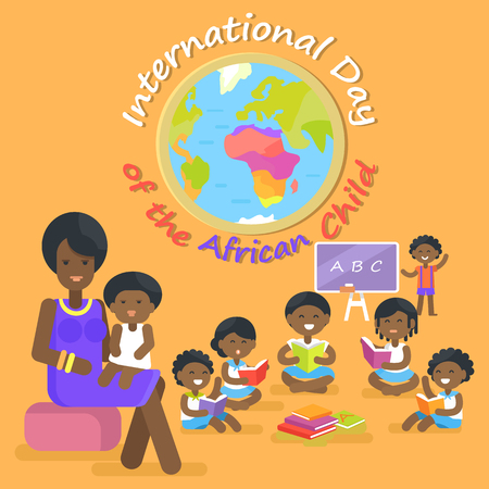 International Day of African Child Illustration