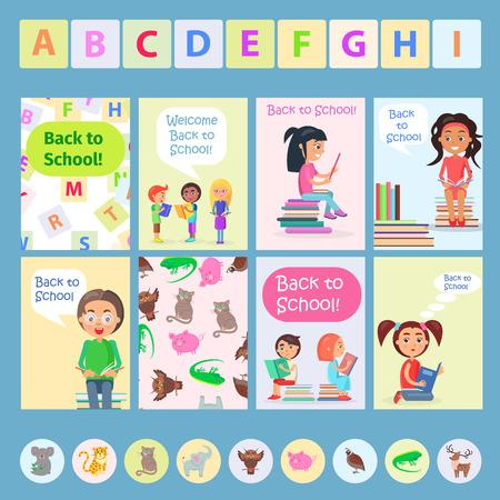 읽기 애들과 함께 학교 카드에 다시 오신 것을 환영합니다.
