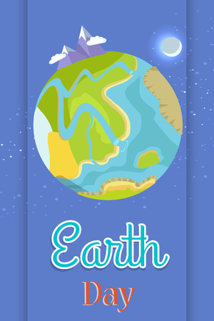 Poster Dedicated to the Earth Day Celebration