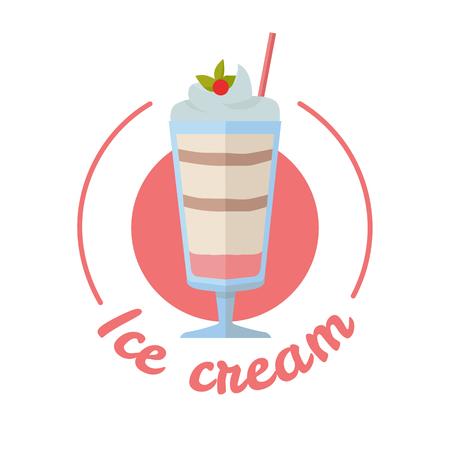 Vector Sweet Frozen Ice Cream