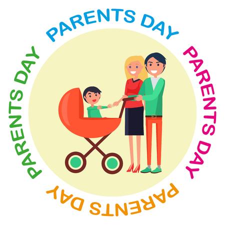 학부모의 날에 헌정 된 비문 포스터
