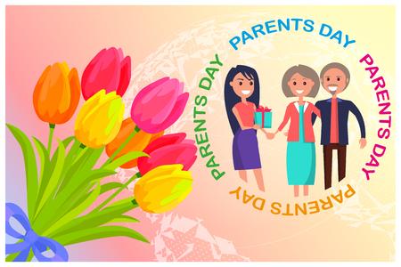 학부모의 날 축하 카드