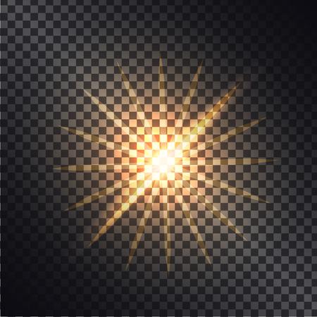 Vector illustratie van lichtgevende effecten grafisch ontwerp. Stockfoto - 88839619