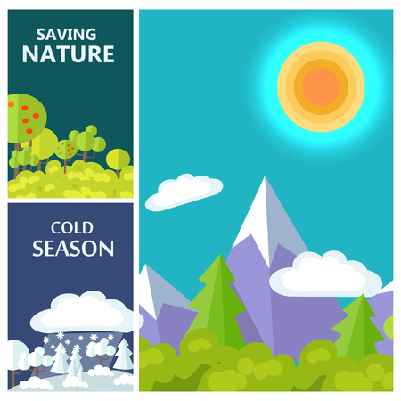Saving Nature, Cold Season and Luxury Mountains