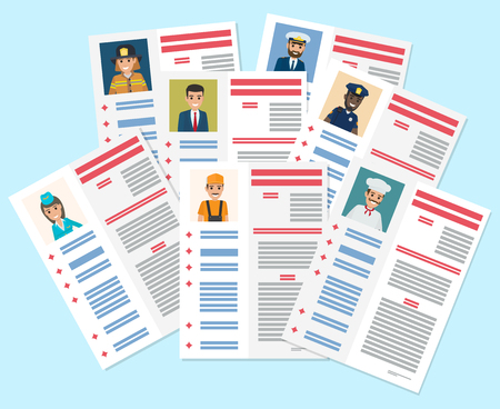 Personal Resumes of Different Industry Workers