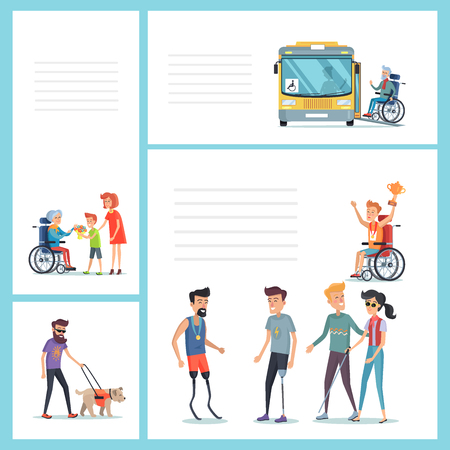 People with Disabilities Do Regular Staff Set