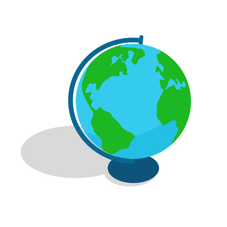 Geographical Globe Spherical or Rounded Object