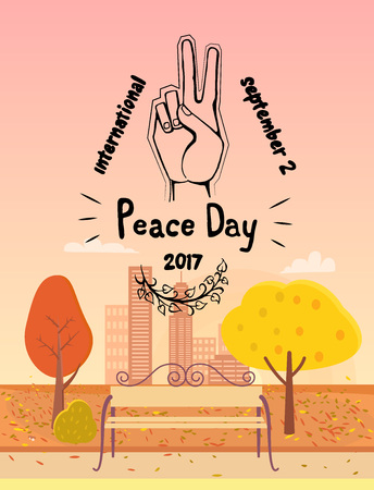 International Peace Day September 21 2017 Symbol
