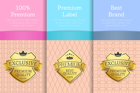 100 Premium and Best Brand Vector Illustration