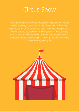 Circus banner design.