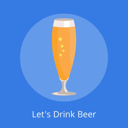 Lets Drink Beer Icon Фото со стока - 90934073