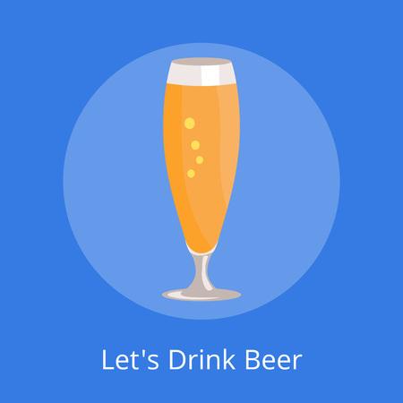 Permet de boire de la bière icône Banque d'images - 90934073