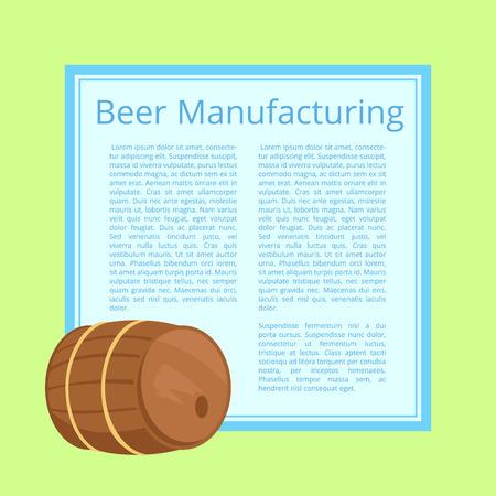 Vormgeving van bierproductie.