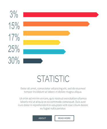 Statistic Illustration Design for Web Page