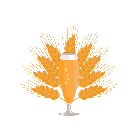 Pilsner verre de bière isolé sur fond blanc Banque d'images - 90602780