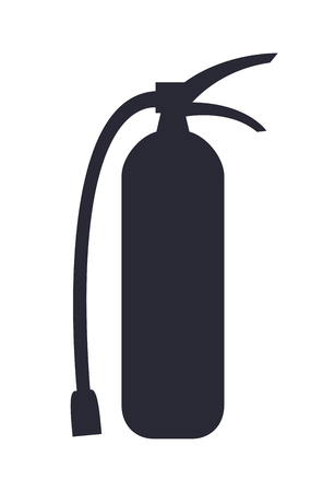 Fire Extinguisher Isolated Vector illustration Zdjęcie Seryjne
