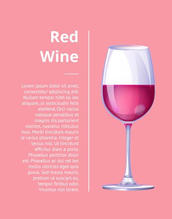 Red Wine Shiny Glass Icon Vector Illustration Icon Stok Fotoğraf - 90652598