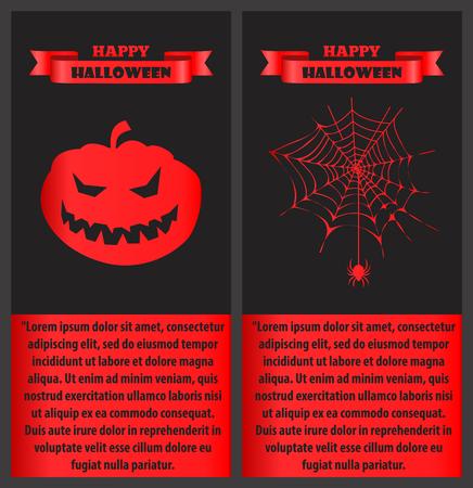 Happy Halloween Bloody op vectorillustratie