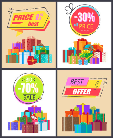 Total Sale Best Prices Discount Final Offer Labels Imagens - 90787074