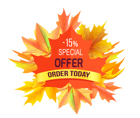 Special Offer - 15 Order Today Promo Advertisement