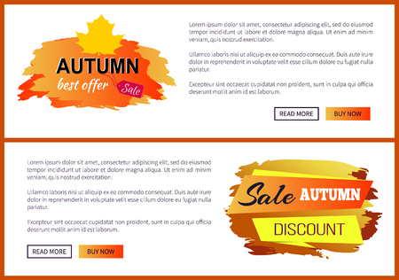 Only Today Autumn Sale -35 Advert Promo Poster